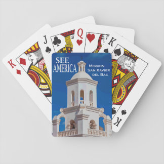 """See America"" Mission San Xavier Card Deck"