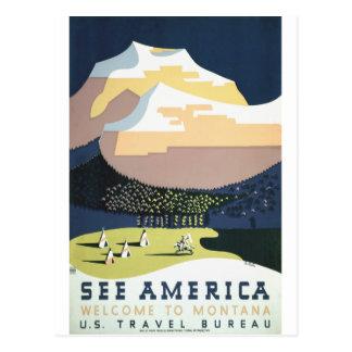 See America: Montana Postcard