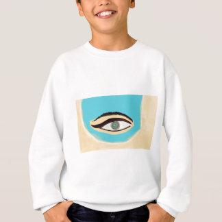 See blue sweatshirt