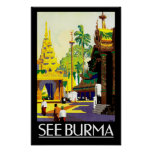 See Burma Posters