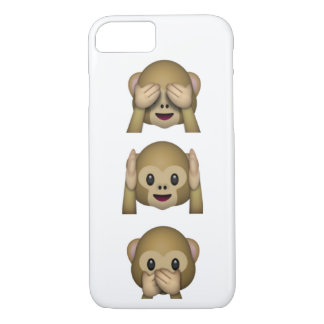 See, Hear and speak no evil phone case