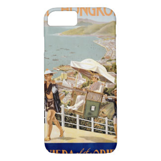 See Hong Kong Vintage Travel Poster Restored iPhone 7 Case