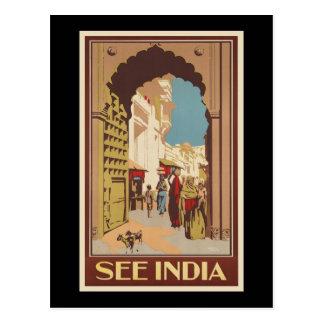 See India Postcard