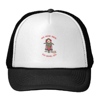 SEE JANE RIDE MESH HATS