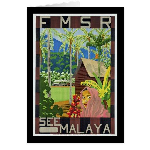 See Malaya Greeting Cards