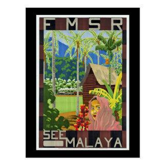 See Malaya Postcard