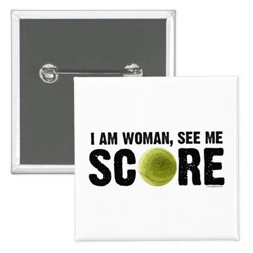 See Me Score - Tennis Button