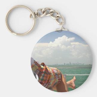 See Miami like a Native Key Ring