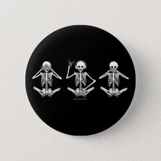 See No Evil... 6 Cm Round Badge