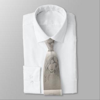 See No Evil Artistic Sketch Tie