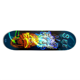 See No Evil - Custom Skateboard