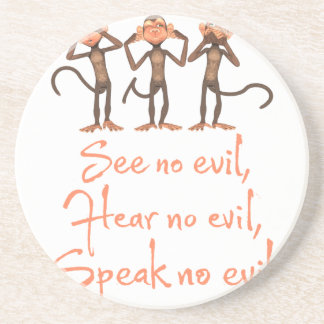 See no evil - hear no evil - speak no evil - coaster