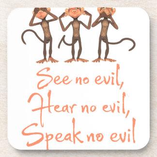 See no evil - hear no evil - speak no evil - coaster