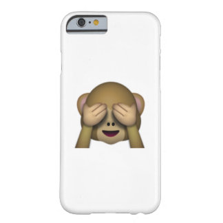 See-No-Evil Monkey emoji Barely There iPhone 6 Case