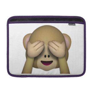 See No Evil Monkey - Emoji MacBook Sleeve