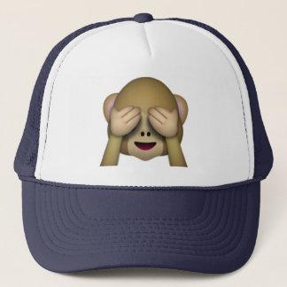 See No Evil Monkey - Emoji Trucker Hat