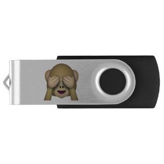 See No Evil Monkey - Emoji USB Flash Drive