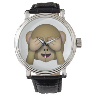 See No Evil Monkey - Emoji Watch