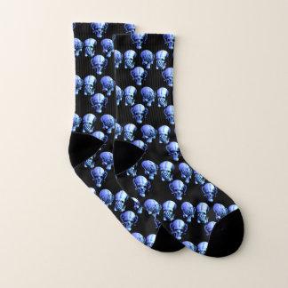 See No, Hear No, Speak No Evil Skulls Socks