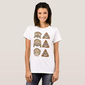 See No Poop, Hear No Poop, Speak No Poop T-Shirt