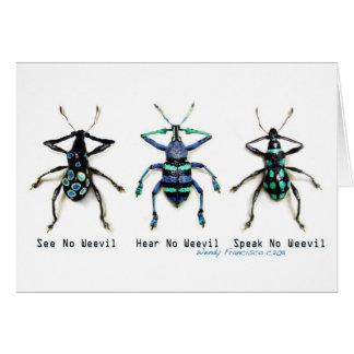 See No Weevil! Card