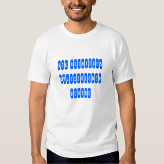 see rotations multicolored behind tee shirts