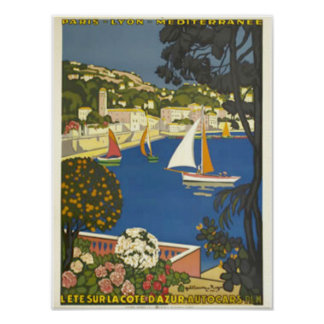 See the French Riviera Poster