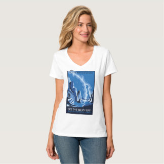 See the Milky Way Galaxy in Zion National Park T-Shirt