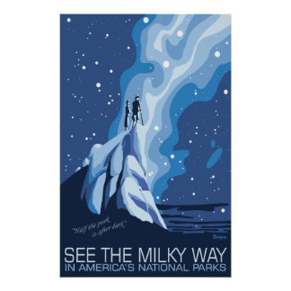 See the Milky Way Large Poster