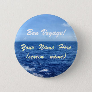 See the Sea 6 Cm Round Badge