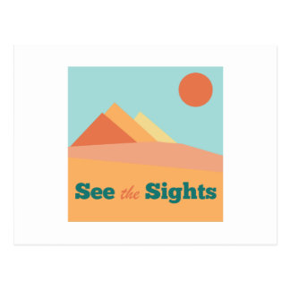 See The Sights Postcard