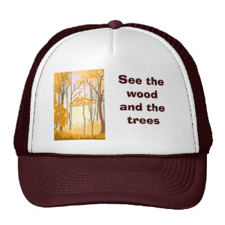 See the wood and the trees cap