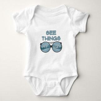 See Things Baby Bodysuit
