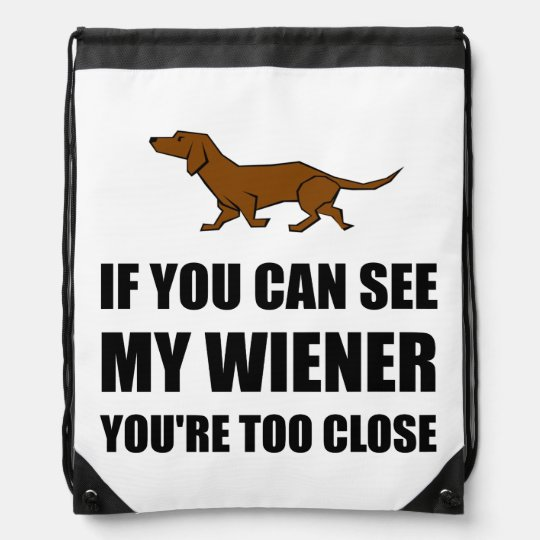 See Wiener Too Close Rucksack