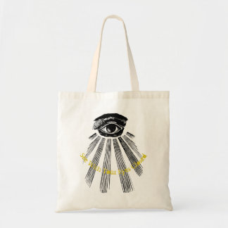 See With Your Eyes Closed Tote Bag