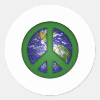 See World Peace Round Sticker