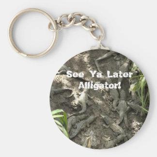 See Ya Later Alligator! Key Ring