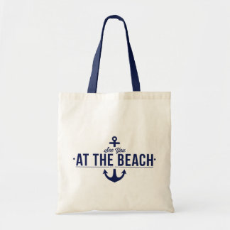 See You At The Beach Tote Bag