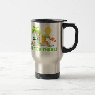 See You At The Beach Travel Mug