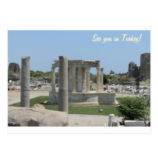See you in Turkey Postcard