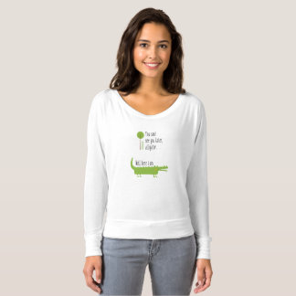 See You Later Alligator Flowy T-Shirt
