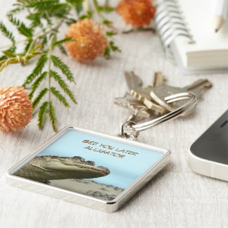 See You Later Alligator Key Ring