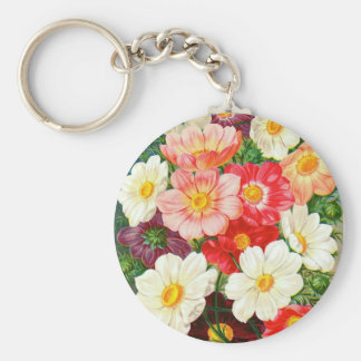 Seed Catalog Page Key Chain