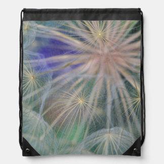 Seed Head Design | Gennesse, Idaho Drawstring Bag