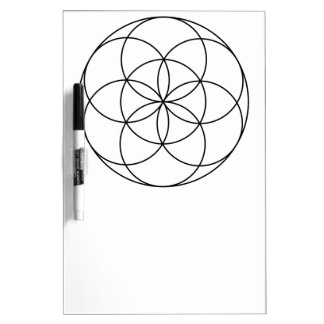 Seed of Life 4 Dry Erase Boards