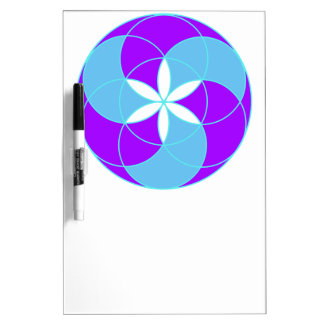 Seed of Life Angel 12 Dry-Erase Board