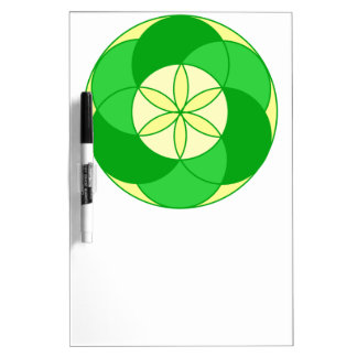Seed of Life Angel 15 Dry-Erase Board