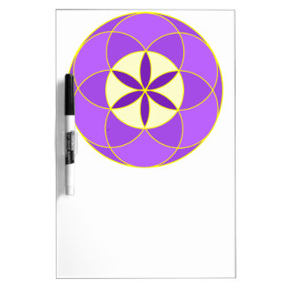 Seed of Life Angel 18 Dry Erase White Board