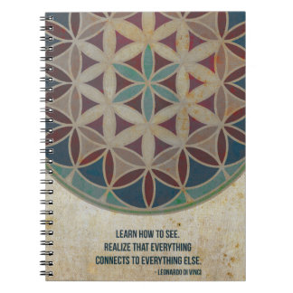 seed of life sacred geometry notebook