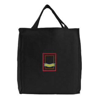 Seed Packet Applique Embroidered Bag